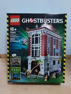 Lego 75827 Ghostbusters HQ brand new MISB minor dent and crease
