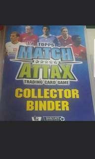 Match Attax 2008/2009 Collector Binder