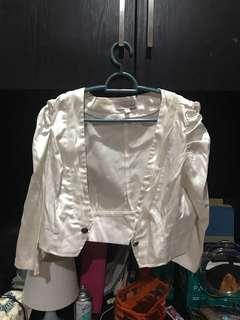 WHITE OUTER SIZE L