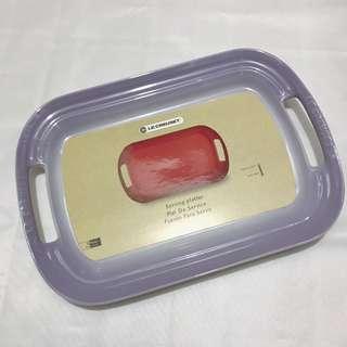 Le Creuset BBQ Plate (Powder Purple)