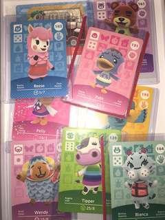 AC Amiibo cards