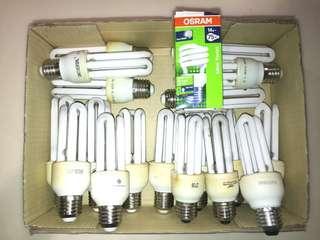 Used Light Bulbs