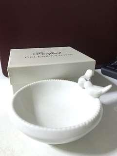 Lovebird Trinket Accessories Dish