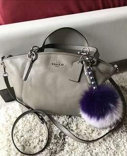 Coach Small Kelsey in Silver Colour