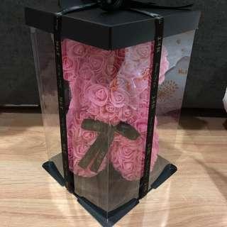 Rose bear $10