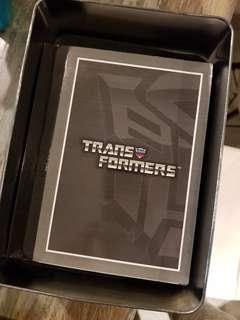 Transformers DVD Set Collectible Item