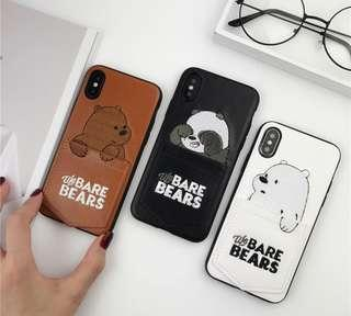 We Bare Bears phone case (preorder)