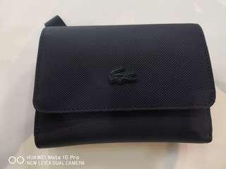 Authentic Lacoste Unisex Wallet