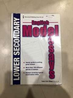 english model essay book