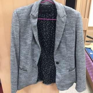 🚚 Zara 棉質西裝外套