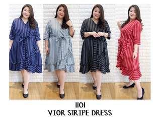 vior stripe dress