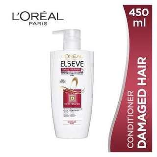 L'Oreal Paris elseve total repair conditioner 450ml