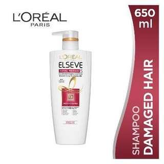 L'Oréal paris elseve total repair shampoo
