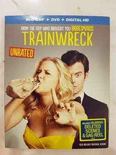 TRAINWRECK    BLU RAY MOVIES DVD