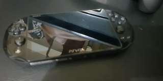 PS vita slim with R2 L2 trigger case