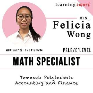 Math home tuition PSLE O level