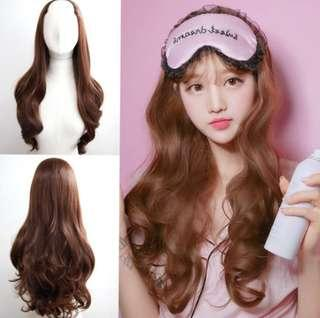 Hair extensions ready stock