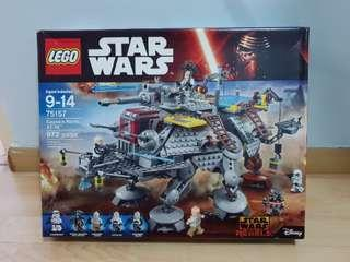 Lego 75157 Star Wars Rebels Captain Rex AT-TE Fifth Brother Inquisitor Brand New MISB Box has creases