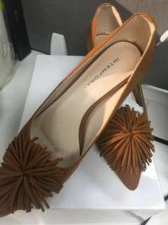 Brown Shoes  Block Heels