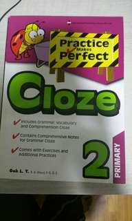 Practice makes perfect Cloze for Primary 2