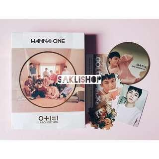 WANNA ONE - I Promise You Album (Day ver.) (ONG set)