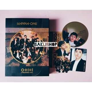 WANNA ONE - I Promise You Album (Night ver.) (ONG set)
