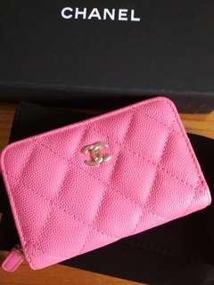 BNIB 19C Chanel Classic Coin Purse Wallet