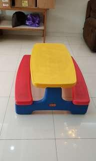 Little Tikes Picnic Tables