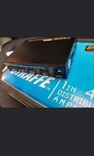 HDMI TV synchronizer. (Multi tv Same Screen)