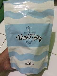 Body Scrub White Milky