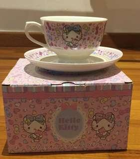 SANRIO Hello Kitty Tea Cup & Saucer