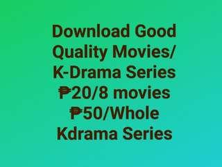Download Movies/KDrama for a Low Pricee!!