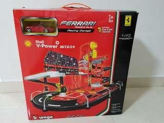 Shell Ferrari Racing Garage