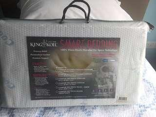 King coil contour pillow