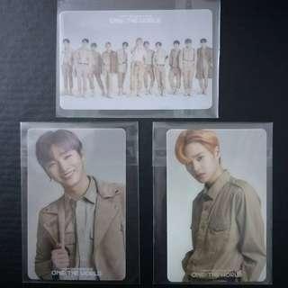 Wanna One Concert Merch Moodlight Semi Transparent Photocard