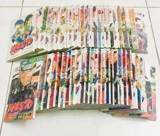 Naruto - Masashi Kishimoto (52 buku)
