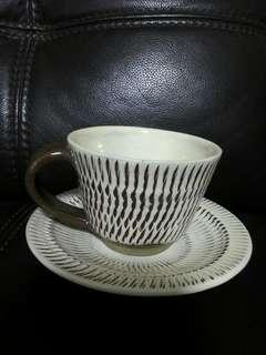 New Zealand Clay Cup & Saucer