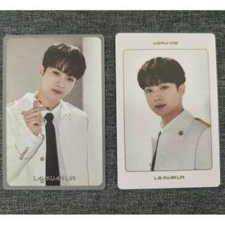 Wanna One World Tour Kihno Video Photocards