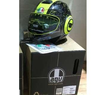 AGV Fluid Rossi Ibiscus Open Face size S
