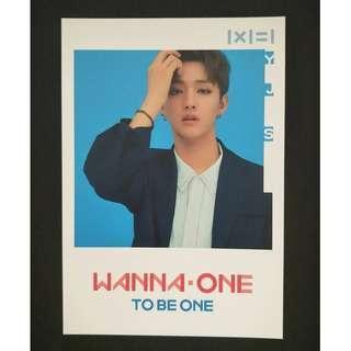 Wanna One Pop-Up Store Postcard