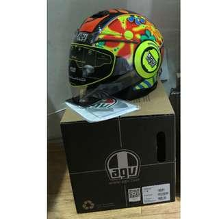 AGV Fluid Rossi Valencia 2003 Open Face size M