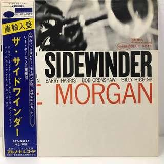 RARE vinyl LP Lee Morgan – The Sidewinder Blue Note – BST 84157 1973 US pressing imported into Japan with Obi