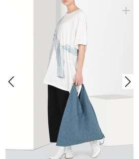 Maison Margiela Denim Wash Japanese Tote Bag