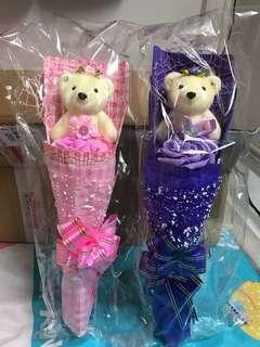 Bears bouquet熊公仔花束
