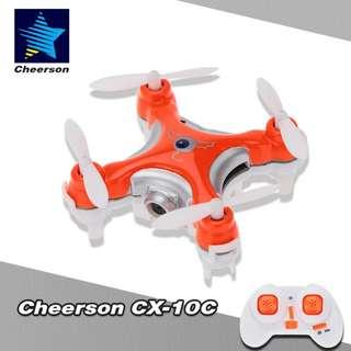 Mini Camera Drone Quadcopter Cheerson CX-10C Flying Toy