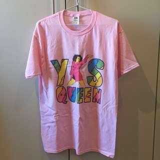 Broad City Yas Queen Slogan Tee