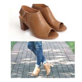 7soles blocked heels wedge peep toe zara michael kors tory burch longchamp lacoste
