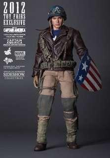 Hot Toys Captain America ( Rescue Uniform Version )