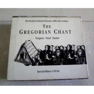 The Gregorian Chant 3 Special Edition 3 CD Set