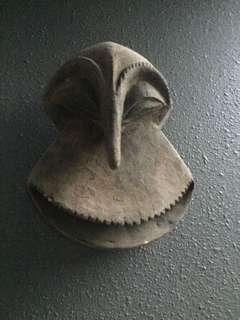 Antique African mask super rare and delightful.